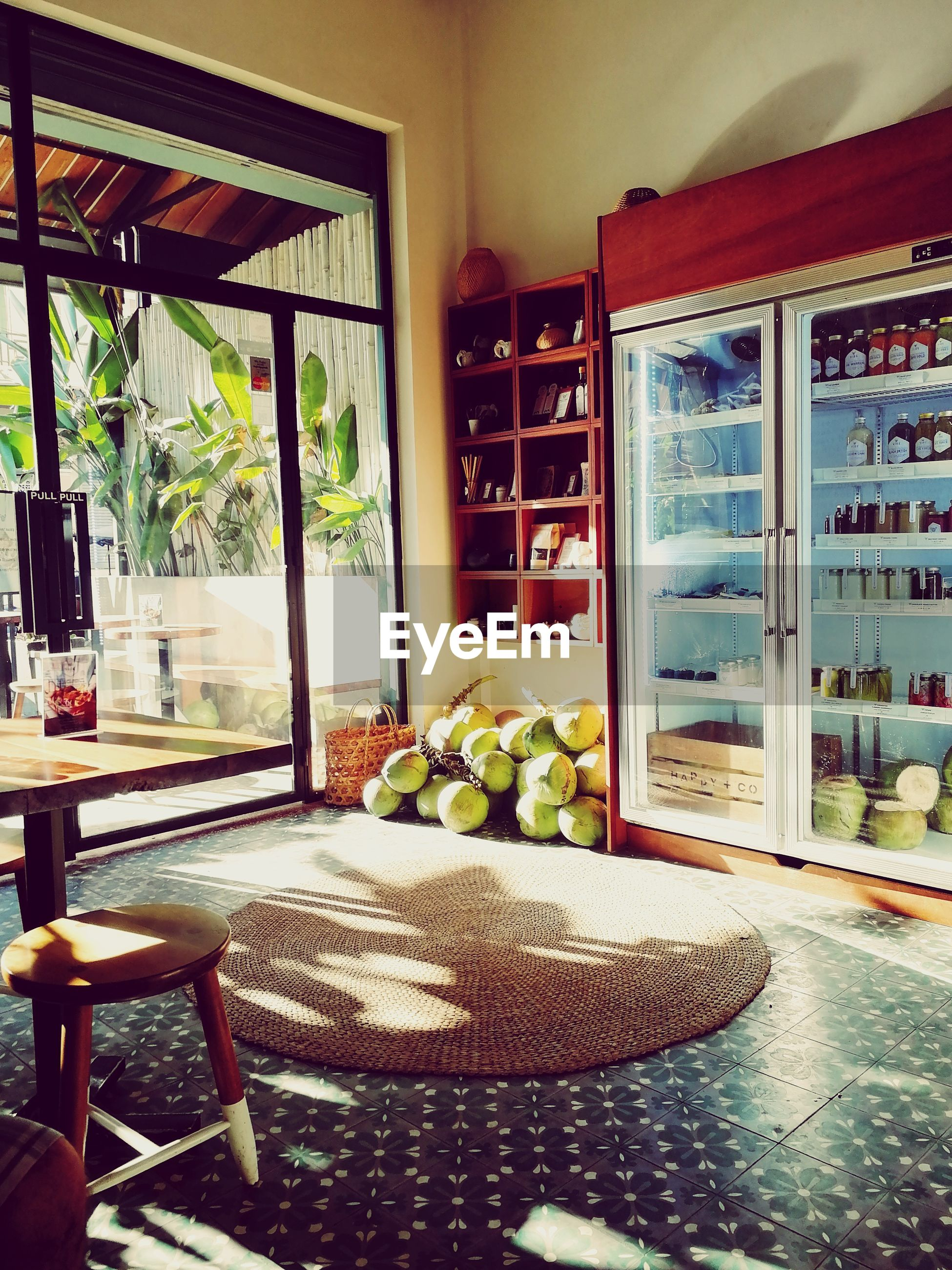 indoors, home interior, no people, table, absence, fruit, chair, food and drink, window, food, day, healthy eating, home showcase interior, cabinet, freshness