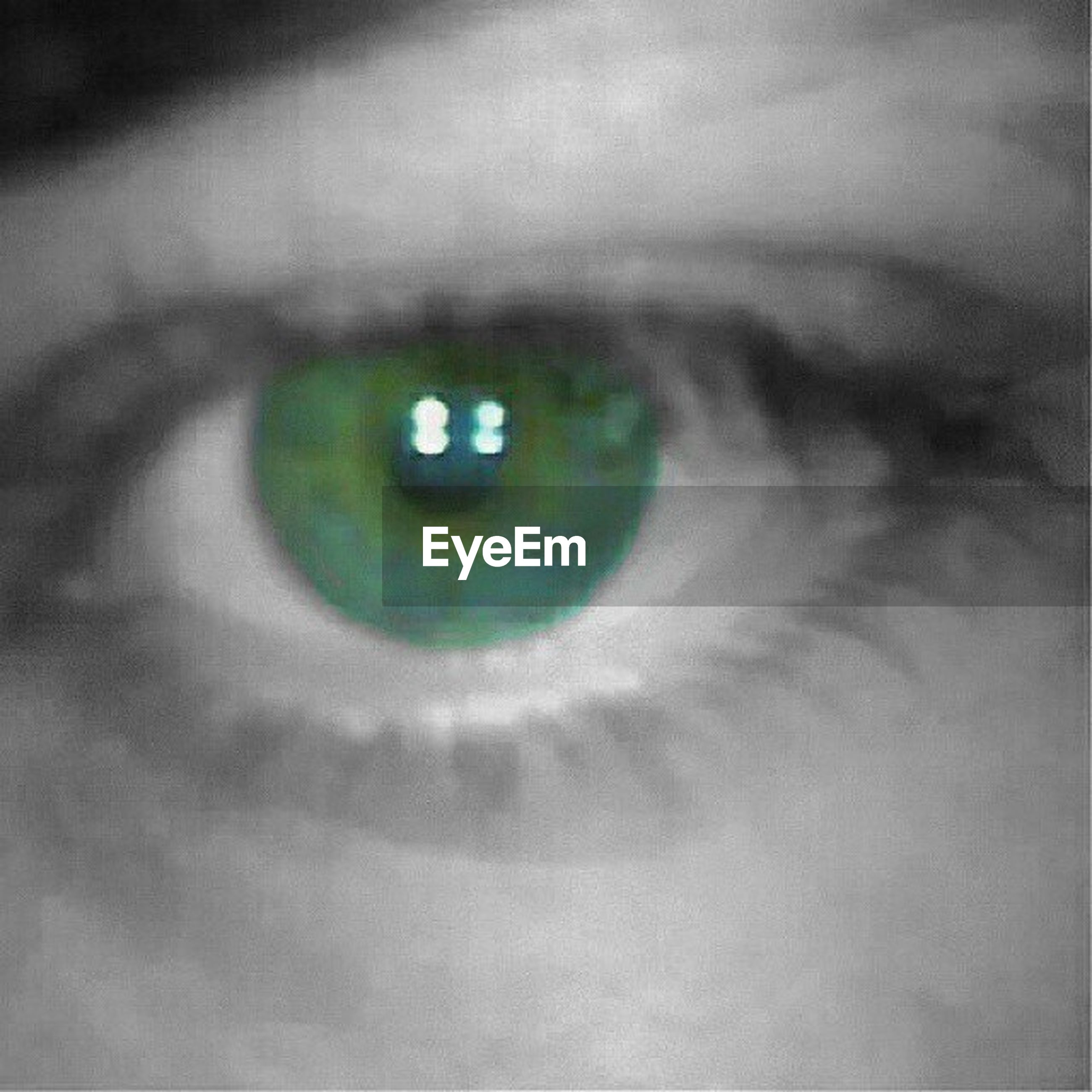 circle, close-up, human eye, indoors, part of, selective focus, sensory perception, geometric shape, eyesight, backgrounds, full frame, extreme close-up, unrecognizable person, high angle view, reflection, green color