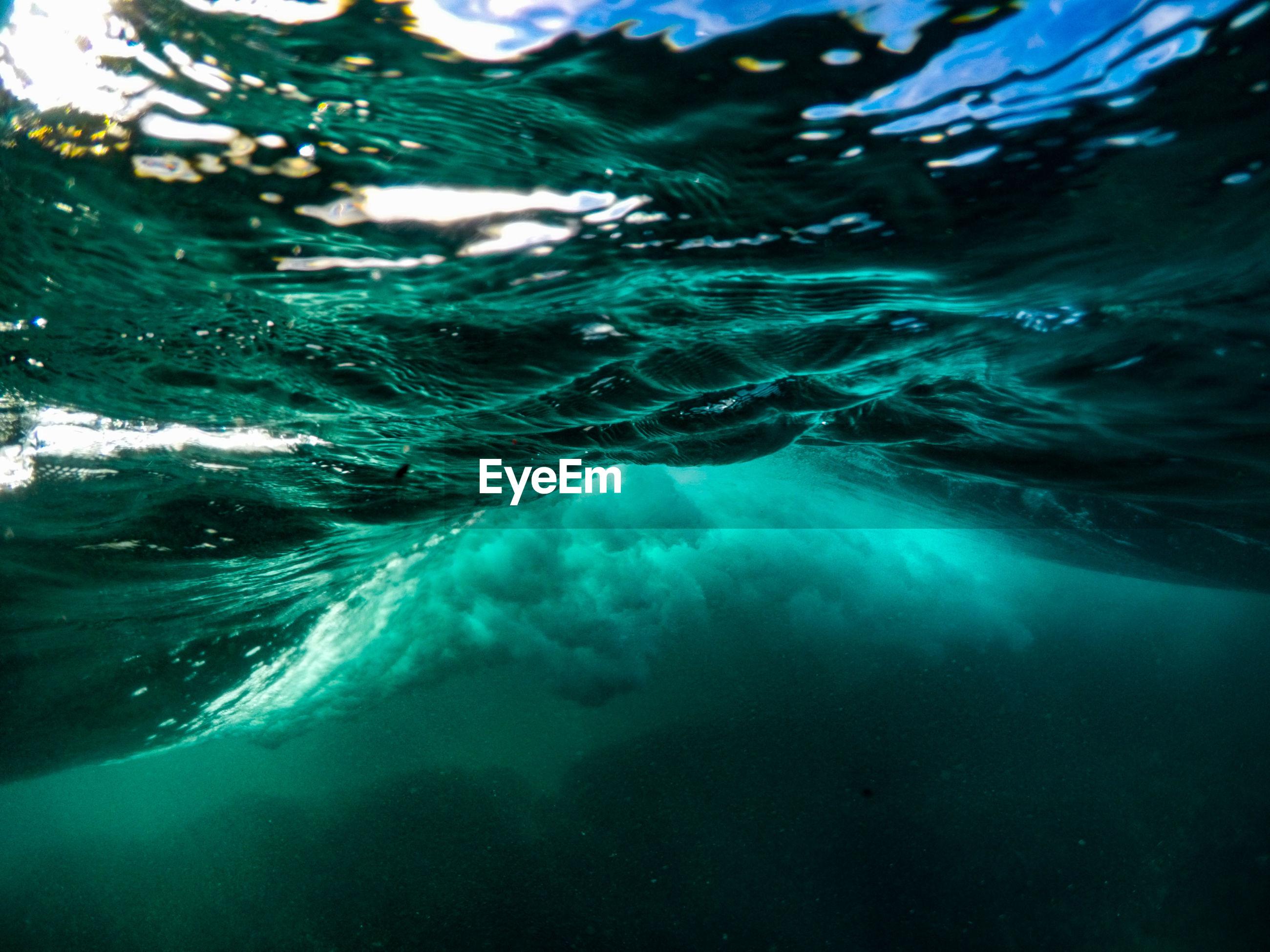 Underwater view of sea