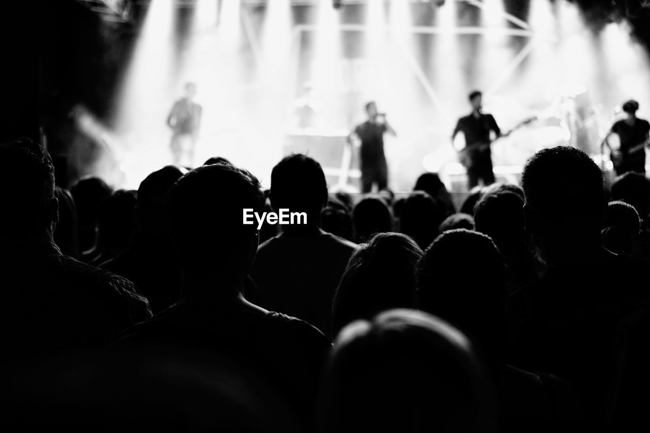 People At Live Concert