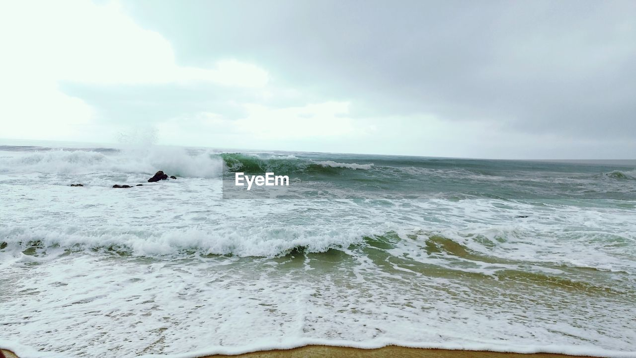 sea, water, nature, motion, sky, beauty in nature, wave, scenics, day, horizon over water, outdoors, waterfront, power in nature, no people