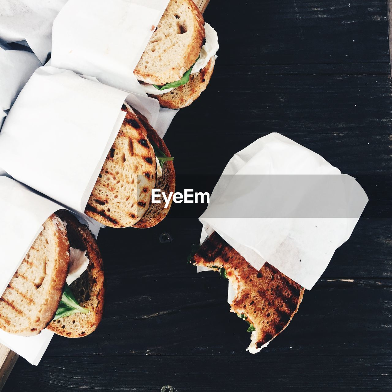 food, food and drink, bread, still life, freshness, indoors, high angle view, no people, close-up, ready-to-eat, dairy product, table, unhealthy eating, indulgence, baked, directly above, white color, cheese, wellbeing, breakfast, snack, french food, temptation