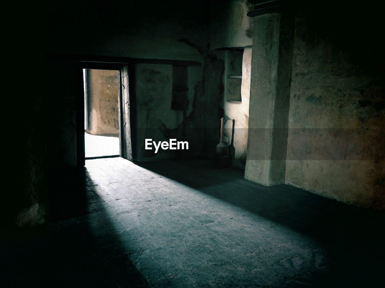 indoors, abandoned, empty, architecture, building, door, doorway, open door, built structure, window, no people, daylight, day
