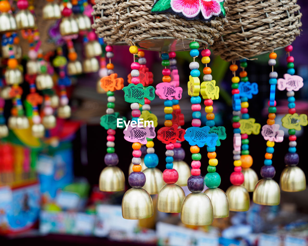multi colored, choice, variation, large group of objects, retail, abundance, for sale, no people, close-up, art and craft, market, still life, hanging, indoors, craft, market stall, selective focus, sale, creativity, decoration, retail display