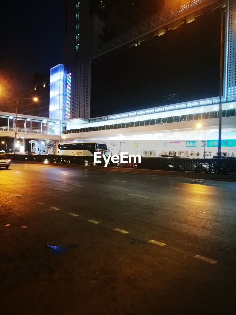 illuminated, transportation, night, car, land vehicle, architecture, mode of transport, built structure, road, city, no people, building exterior, outdoors