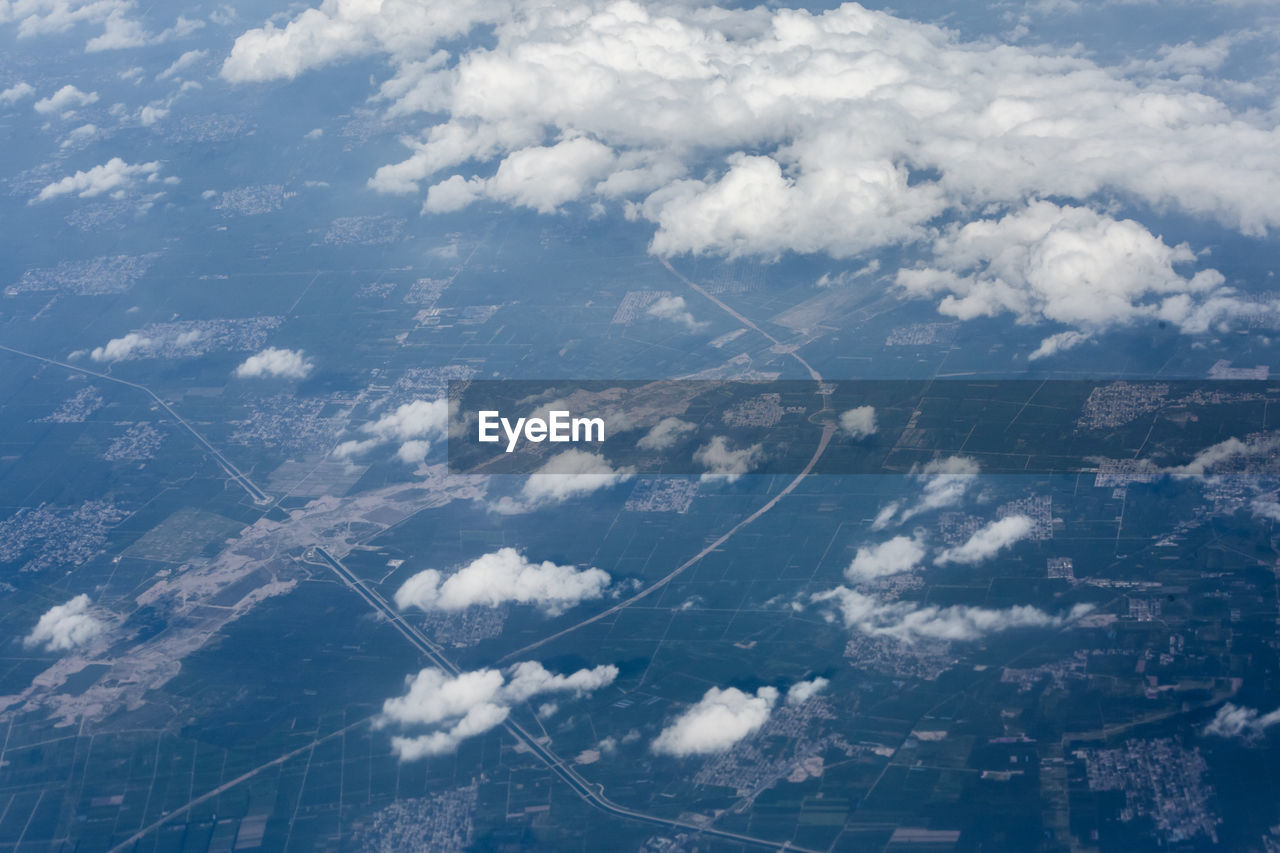 AERIAL VIEW OF SEASCAPE