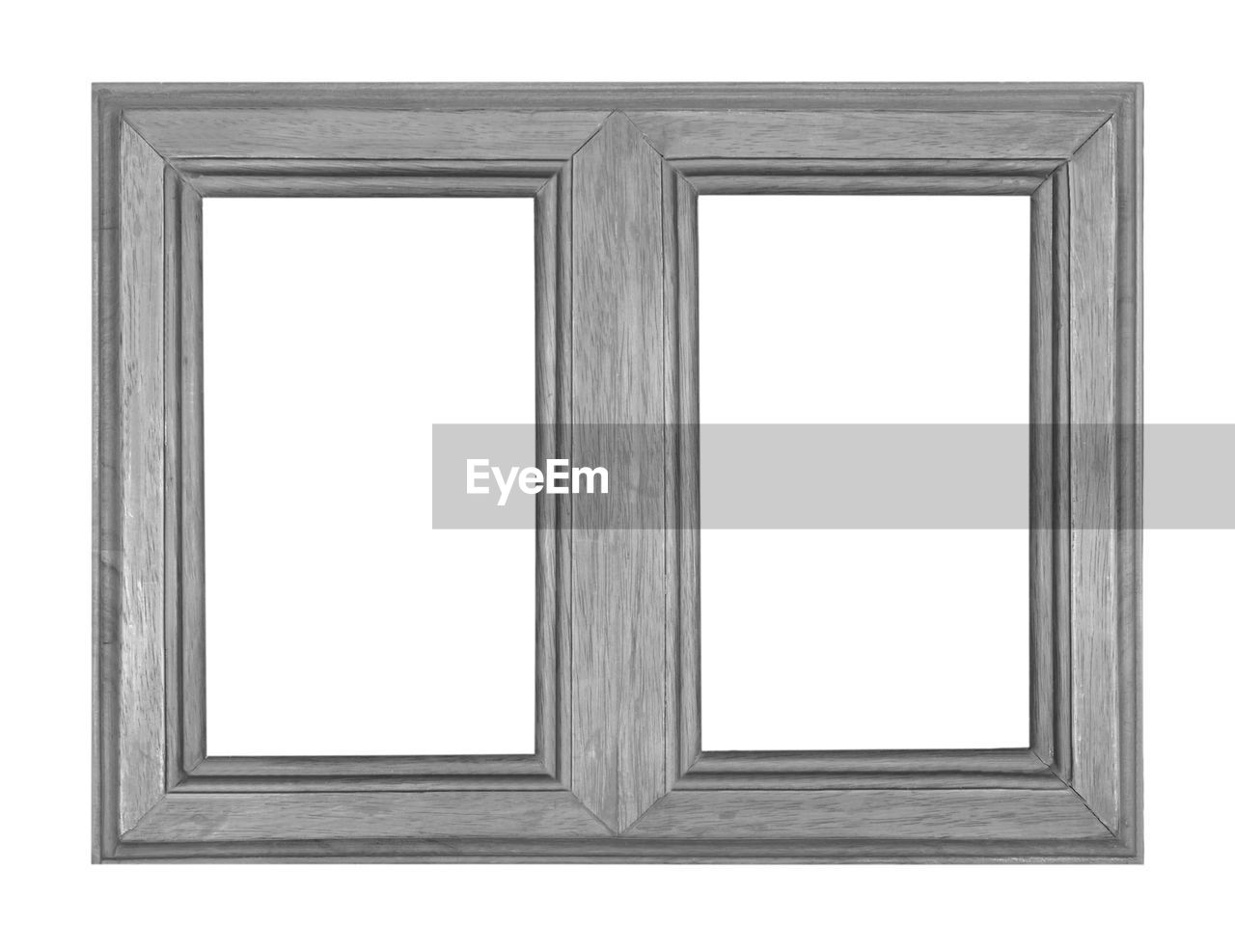 frame, picture frame, blank, copy space, white color, cut out, empty, art and craft, rectangle, indoors, museum, wood - material, white background, shape, no people, paintings, paint, painted, single object