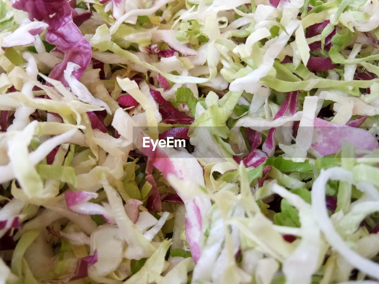 food and drink, vegetable, food, full frame, healthy eating, salad, wellbeing, freshness, indoors, close-up, still life, backgrounds, ready-to-eat, no people, vegetarian food, chopped, onion, selective focus, white color, cabbage, dinner