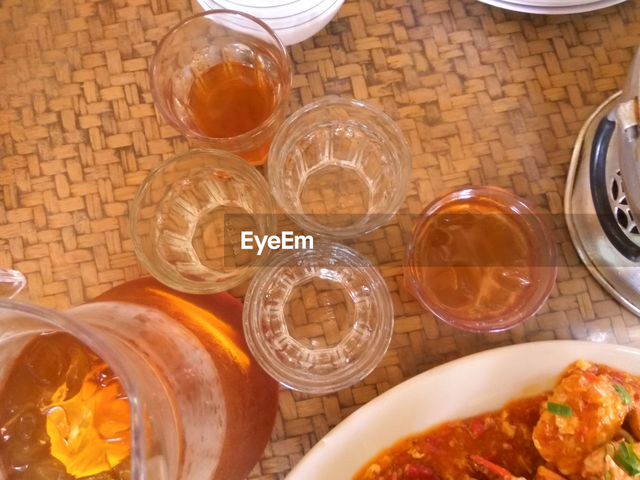 food and drink, drinking glass, table, food, high angle view, indoors, no people, freshness, drink, healthy eating, close-up, ready-to-eat, day