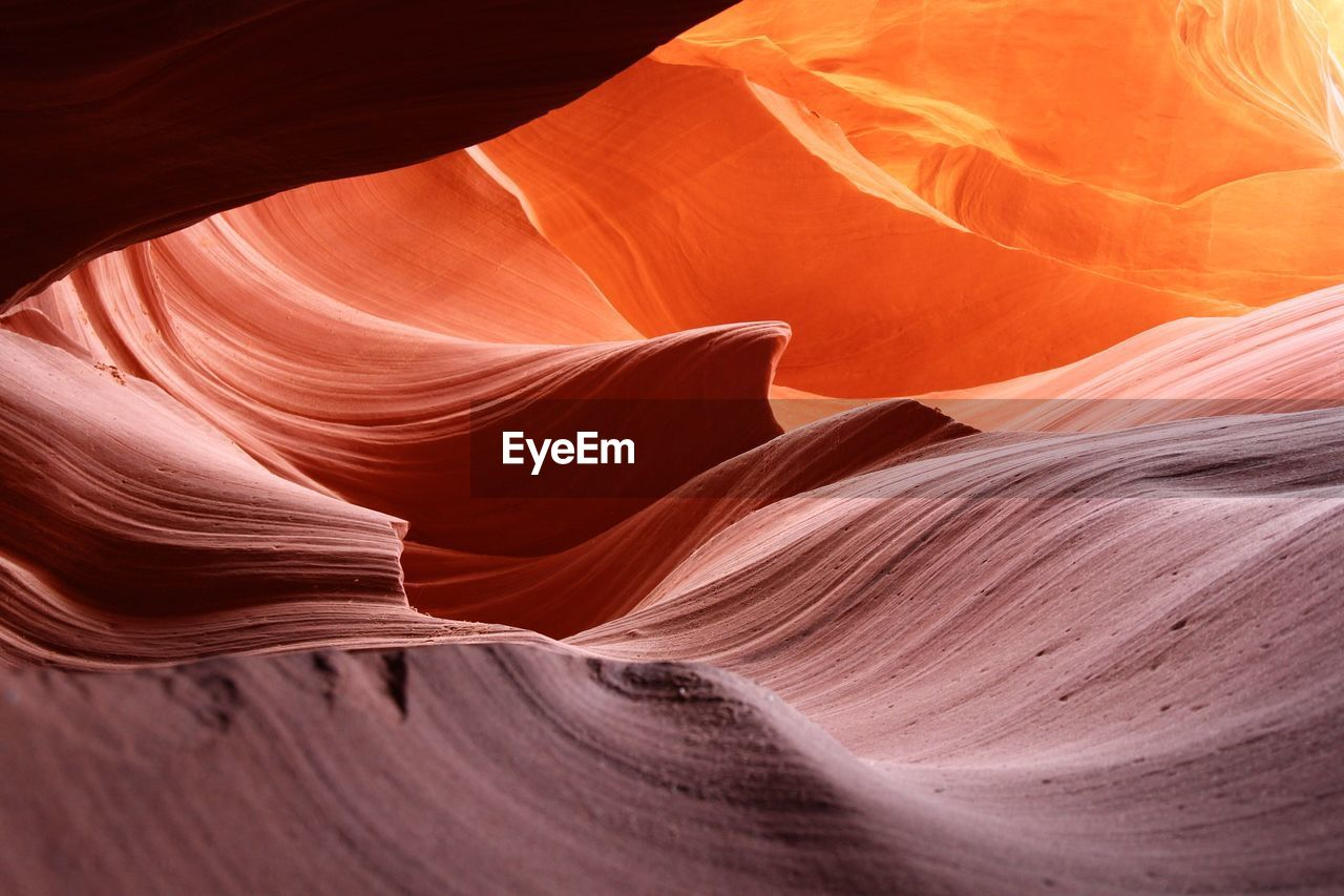 Rock Formations In Canyon