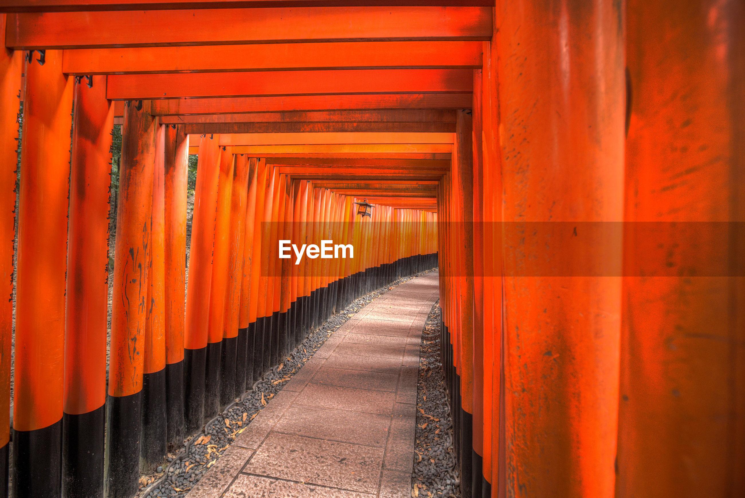 Walkway in shrine