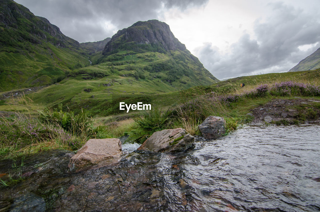 A stream in the scottish highlands