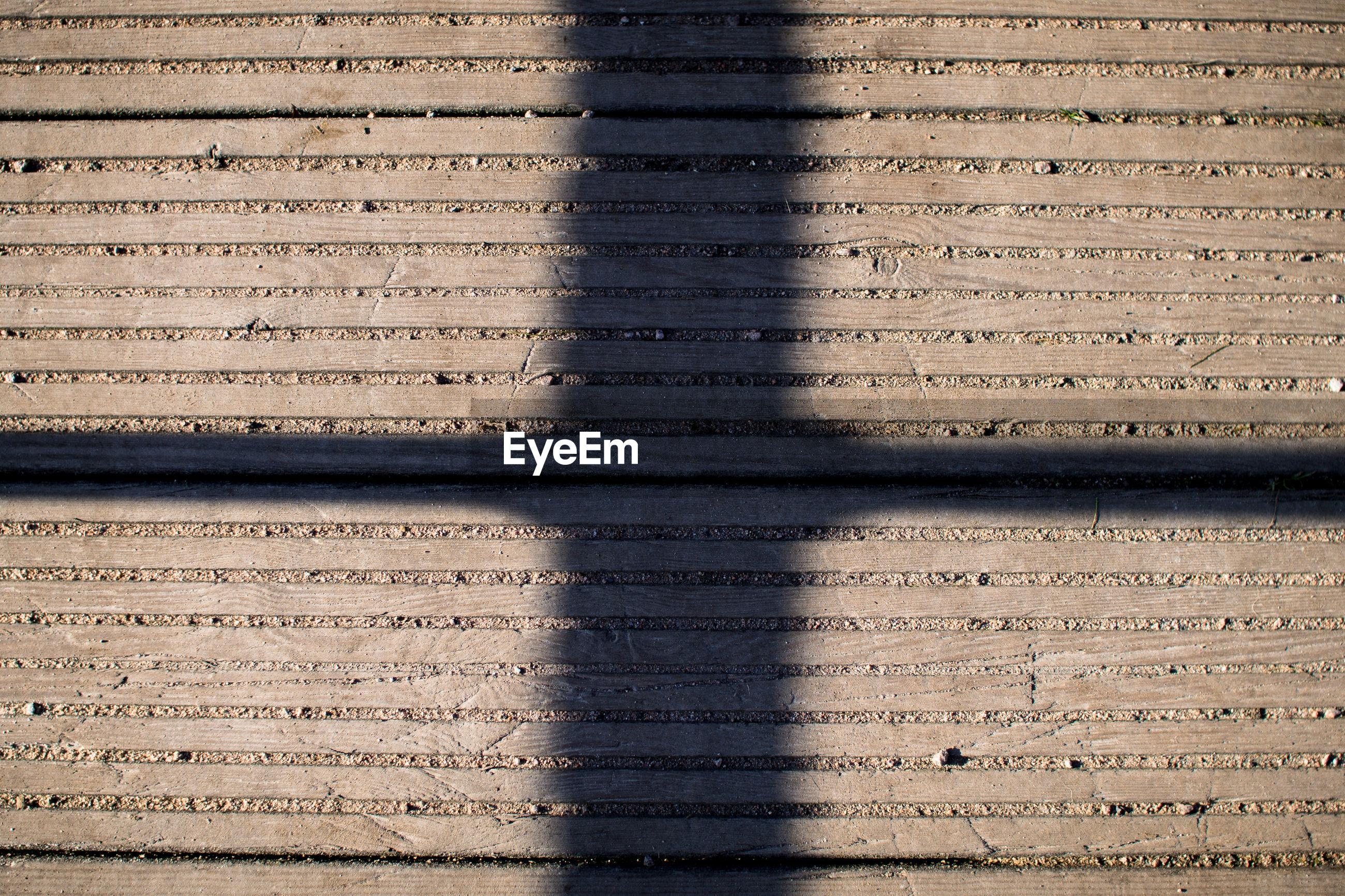 Shadow on wood