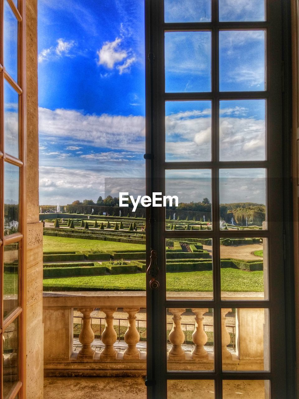 window, sky, cloud - sky, no people, day, indoors, landscape, architecture, nature