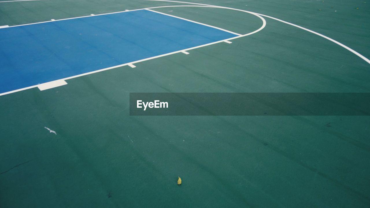Full frame shot of basketball court