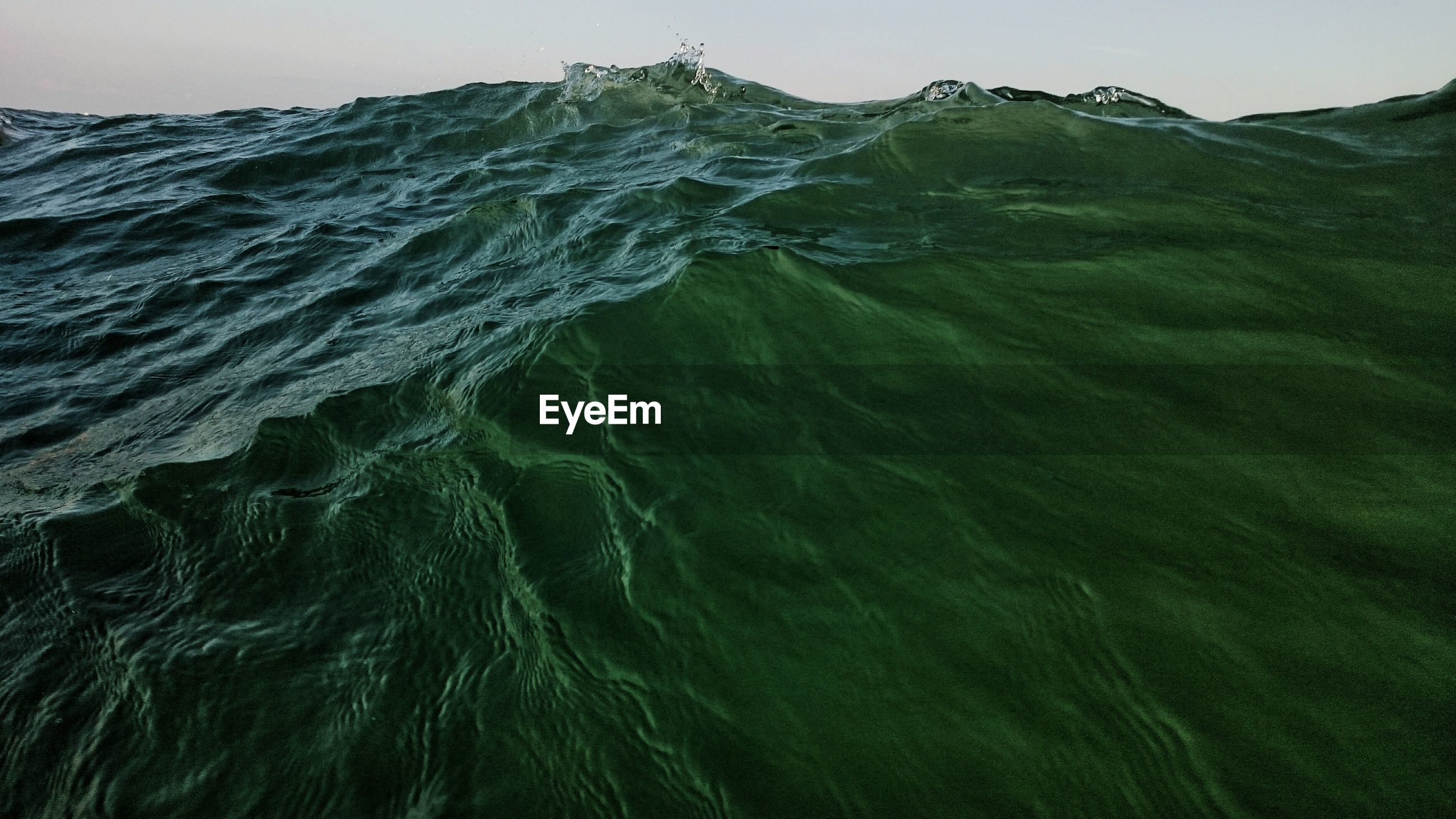 Close-up of sea wave