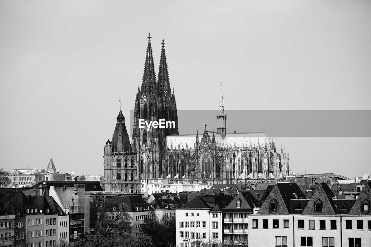 Cologne Cathedral Against Sky In City