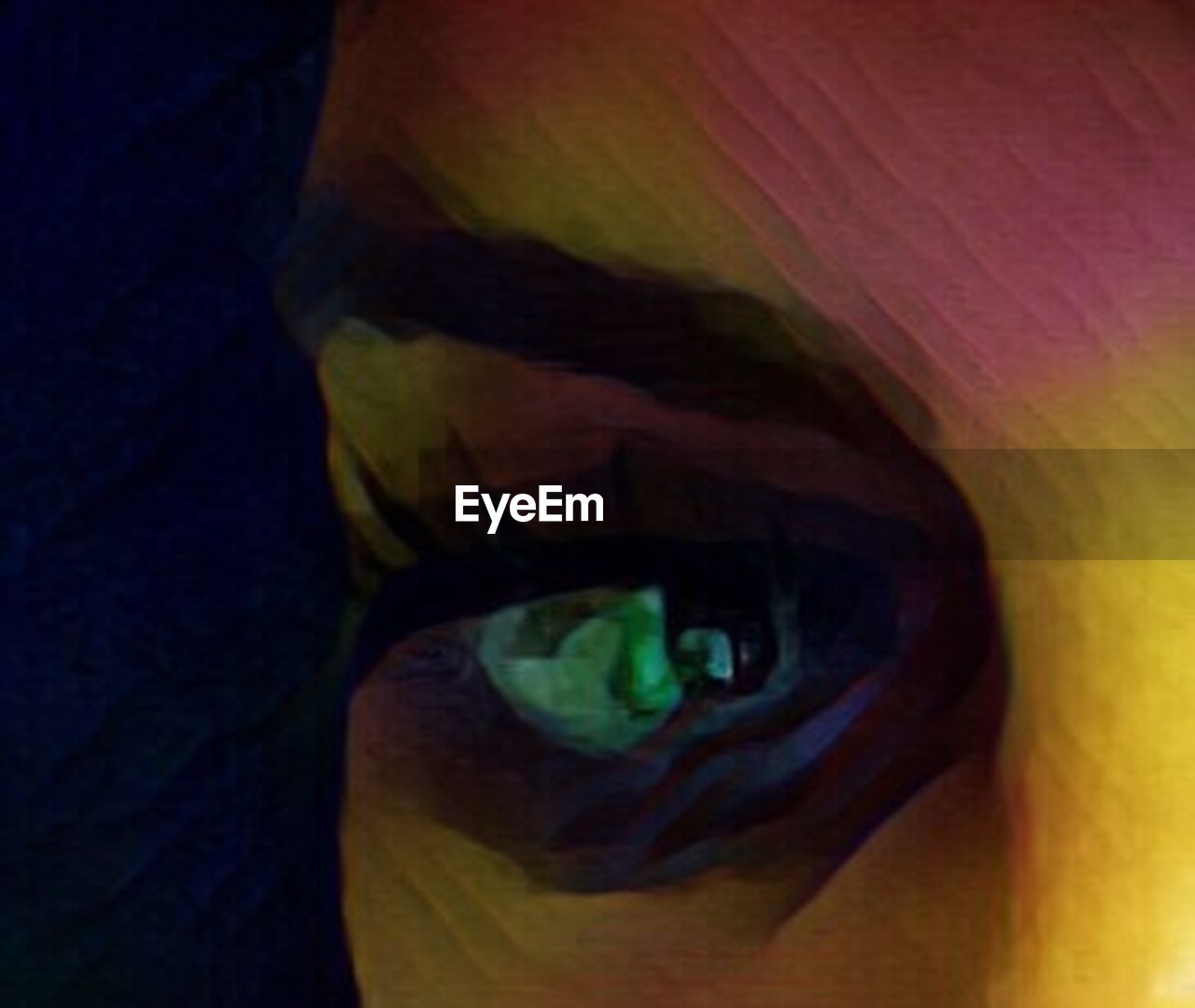 human body part, human eye, yellow, abstract, looking at camera, portrait, one person, people, adult, human face, close-up, adults only, one woman only, eyesight, illuminated, eyelash, young adult, eyeball, outdoors, day