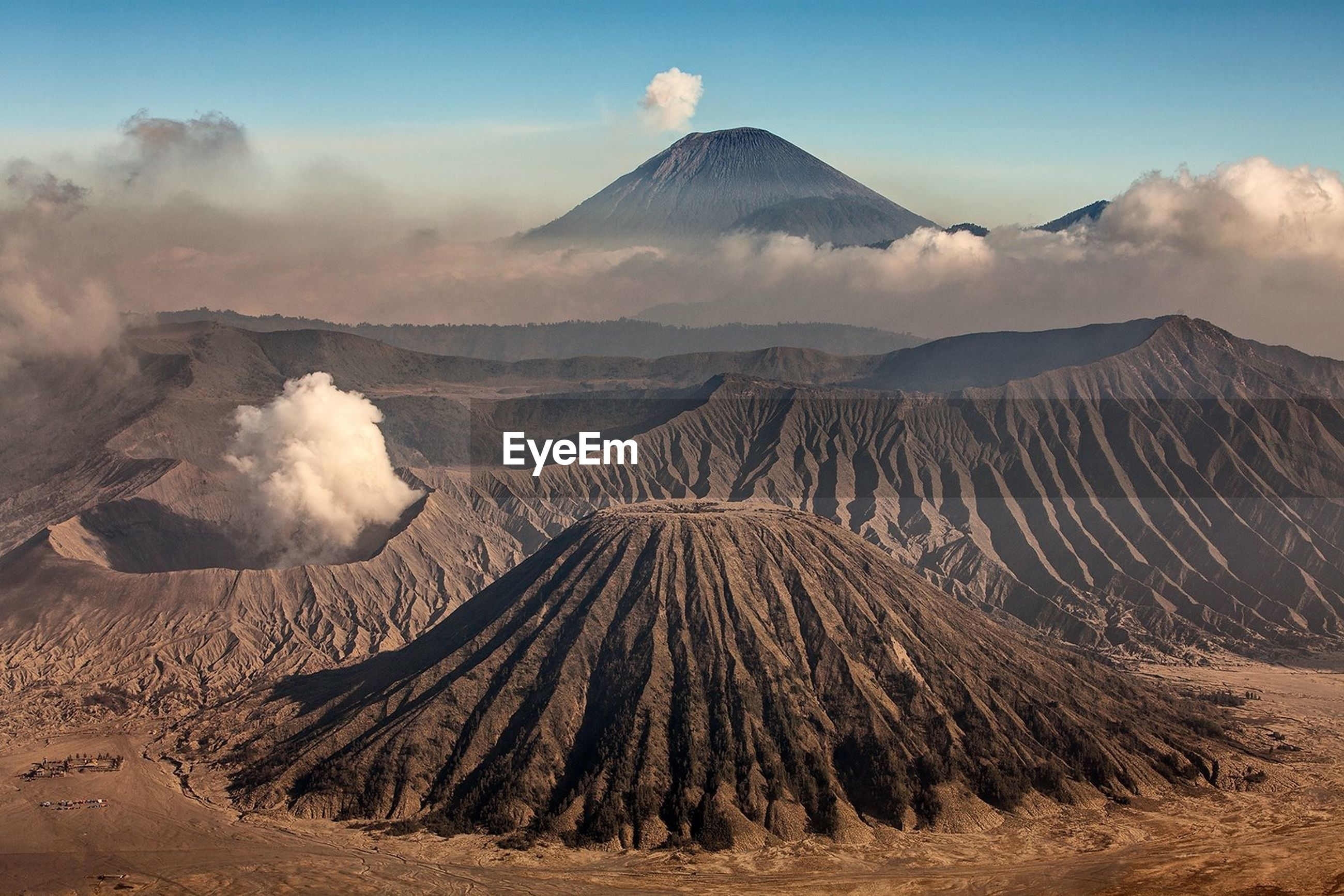 View of mt bromo
