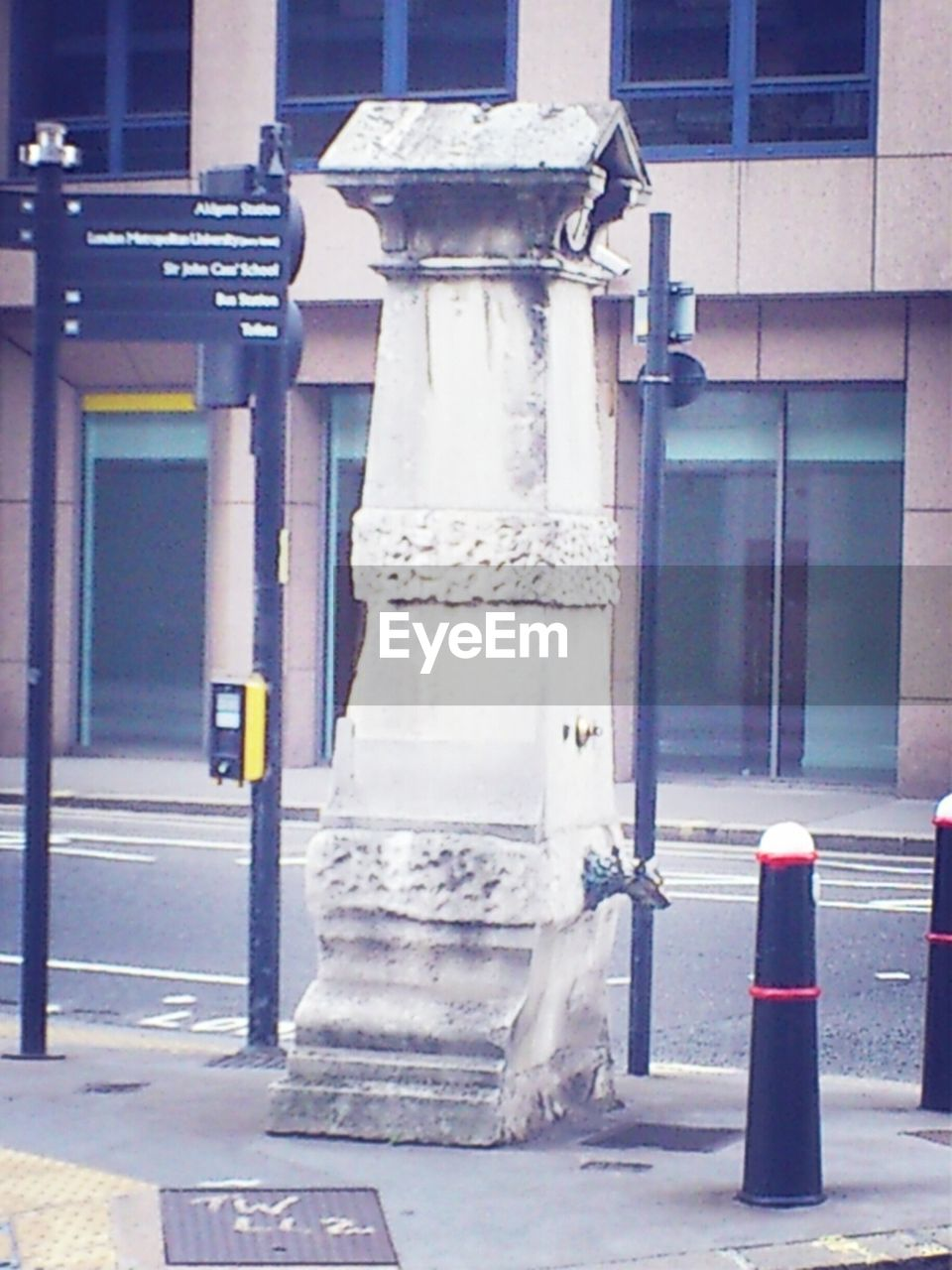 day, building exterior, architecture, built structure, no people, outdoors, fire hydrant, traffic cone, city