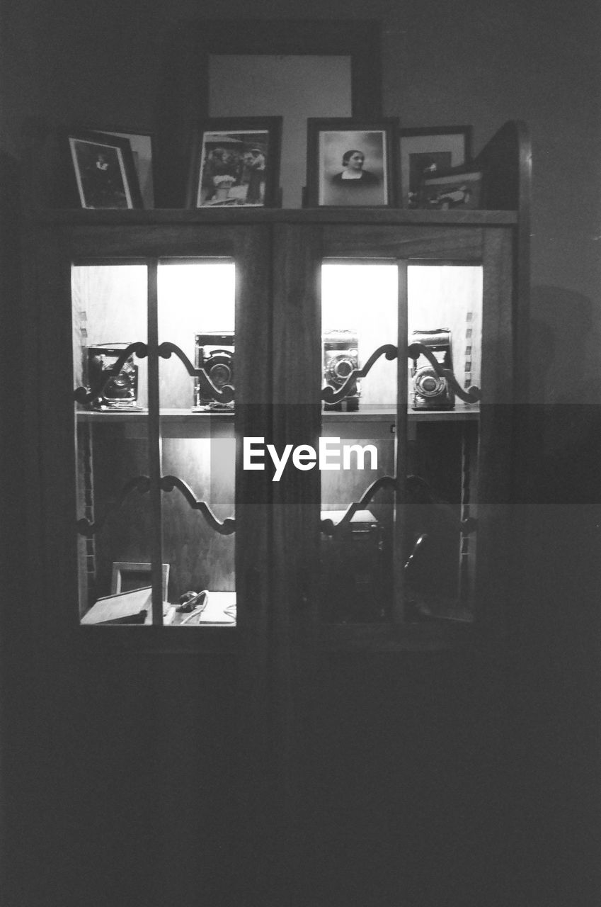 window, indoors, no people, night, close-up