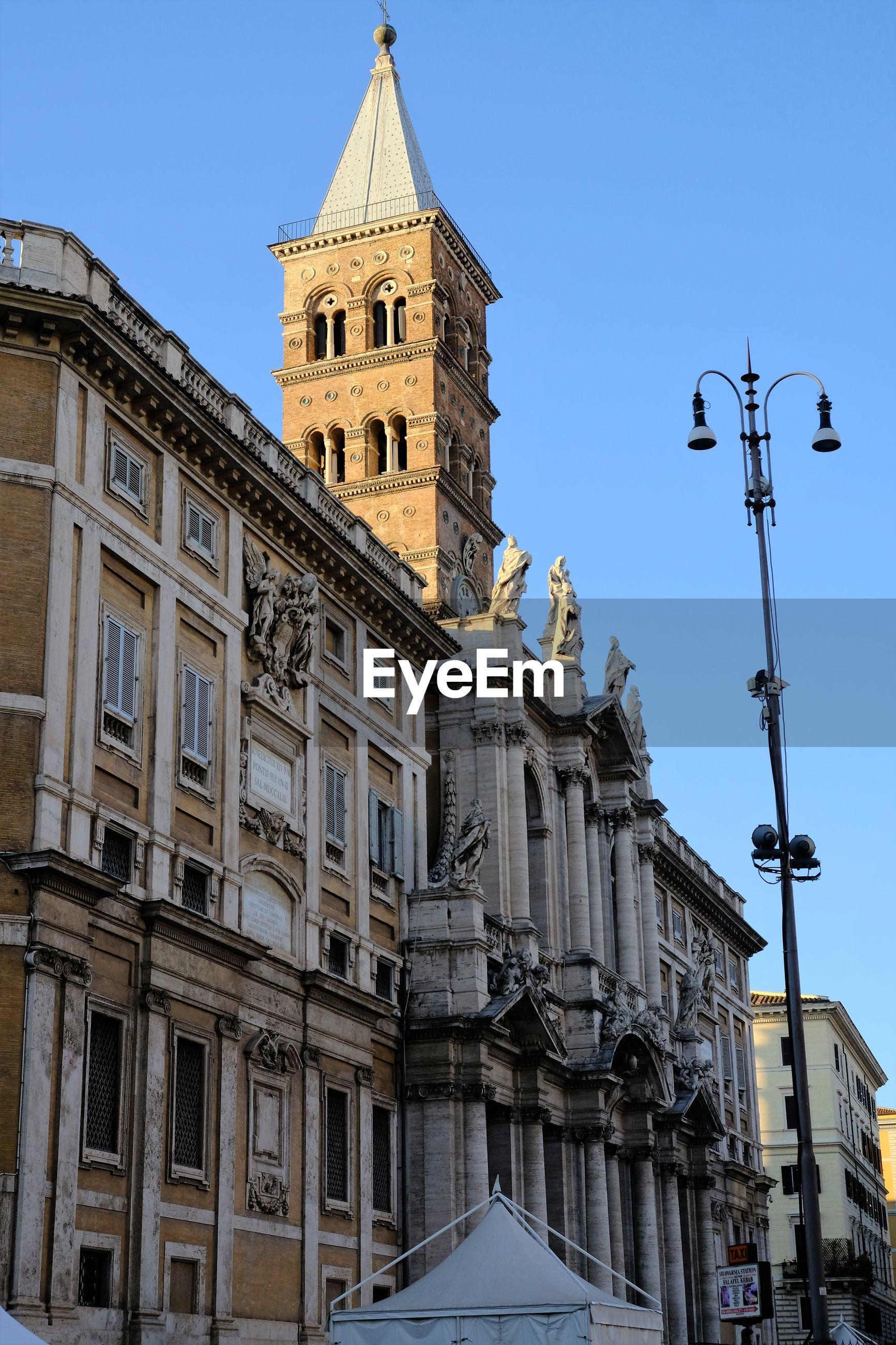 Basilica di santa maria maggiore, papal major basilica and the largest catholic marian church