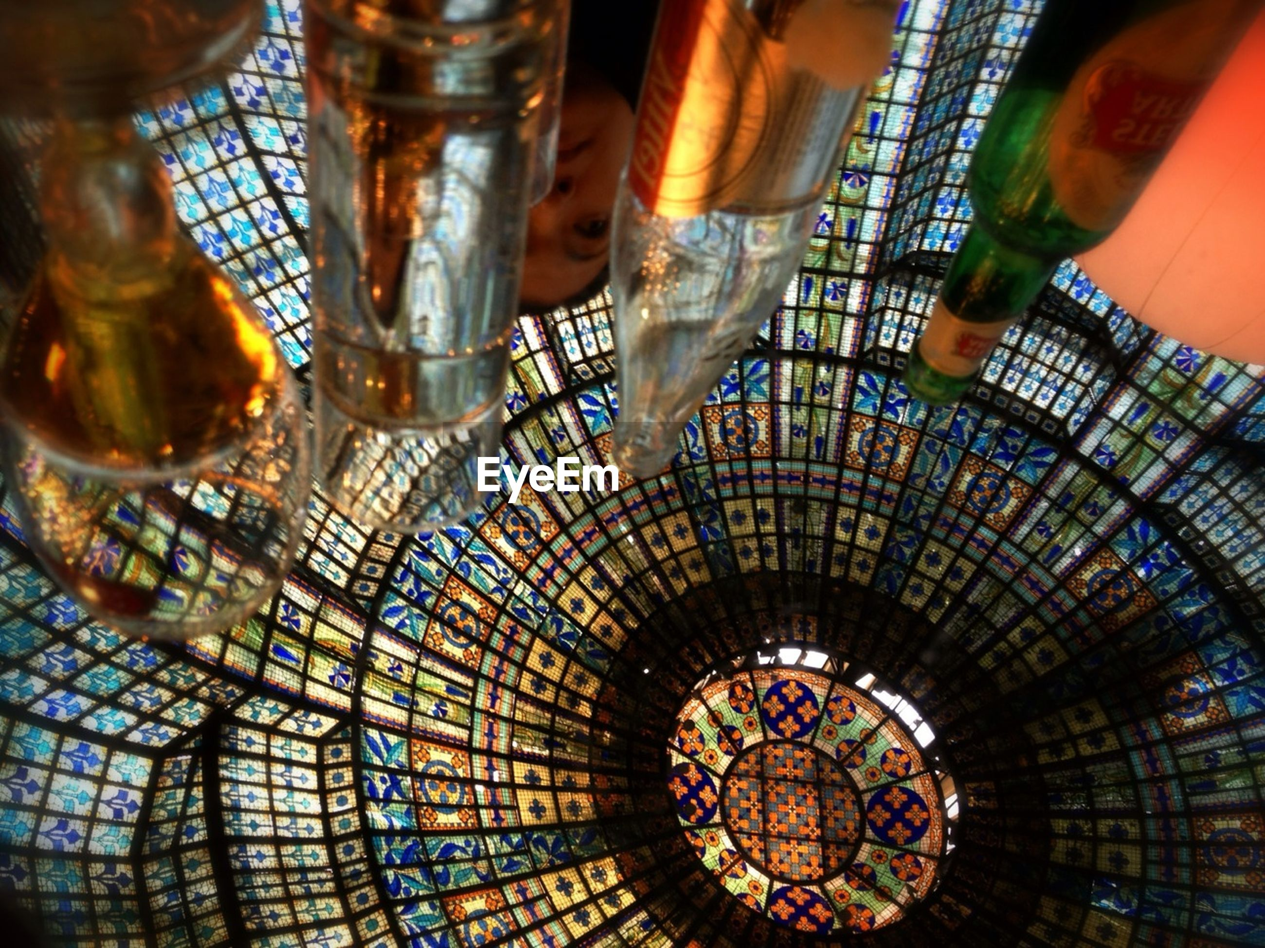 indoors, part of, drink, high angle view, metal, glass - material, men, leisure activity, lifestyles, design, close-up, day, unrecognizable person, pattern, cropped, table, low section
