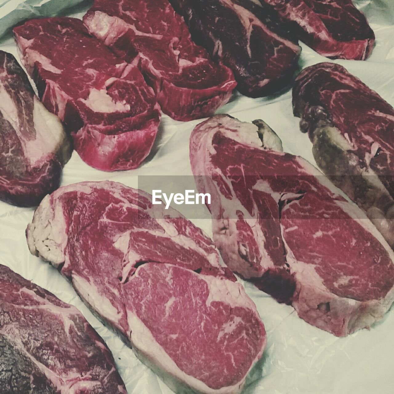 Close-Up Of Raw Meat