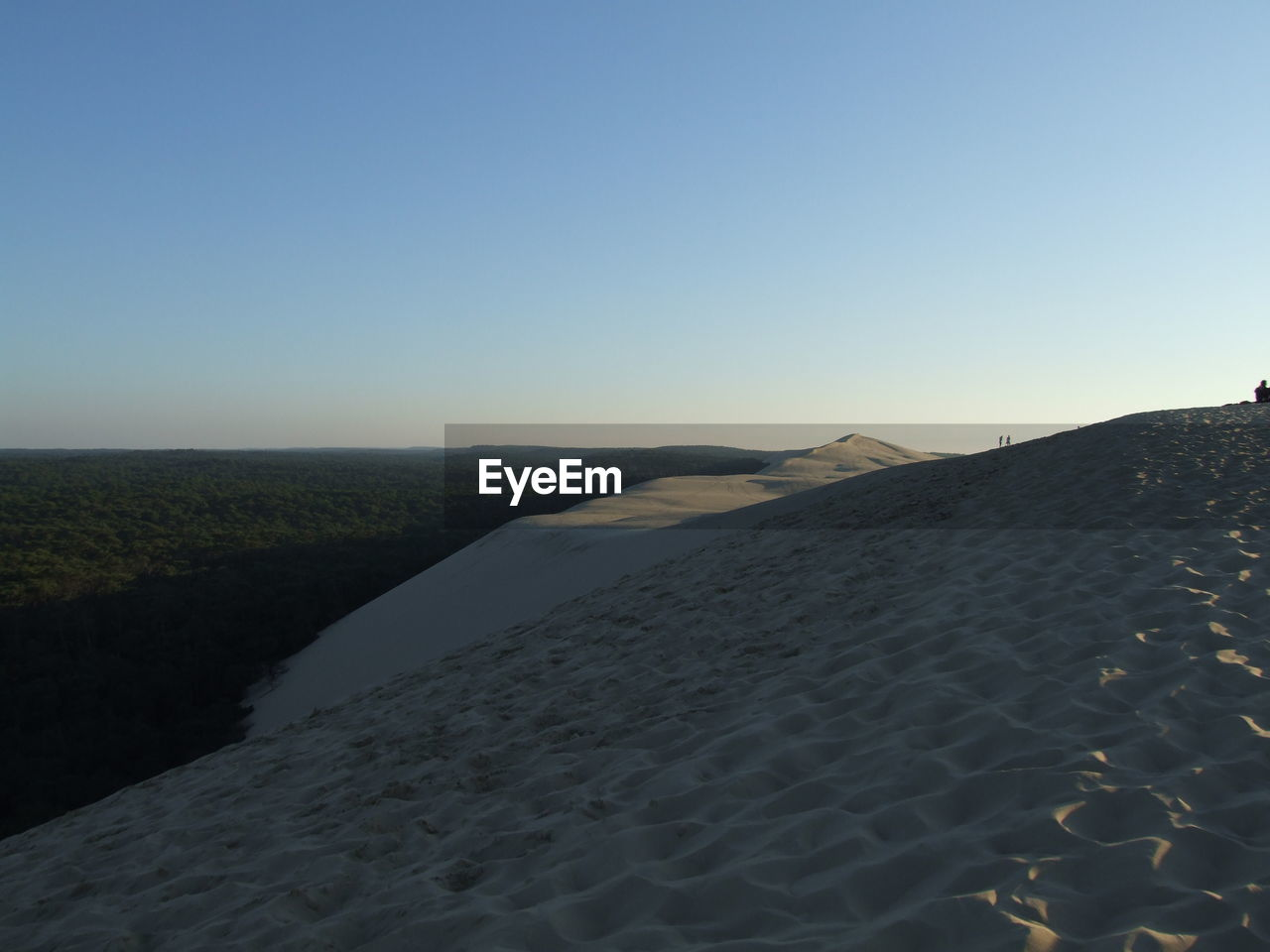 nature, clear sky, tranquility, tranquil scene, sand, scenics, copy space, beach, outdoors, beauty in nature, no people, water, sea, day, sky, landscape, sand dune