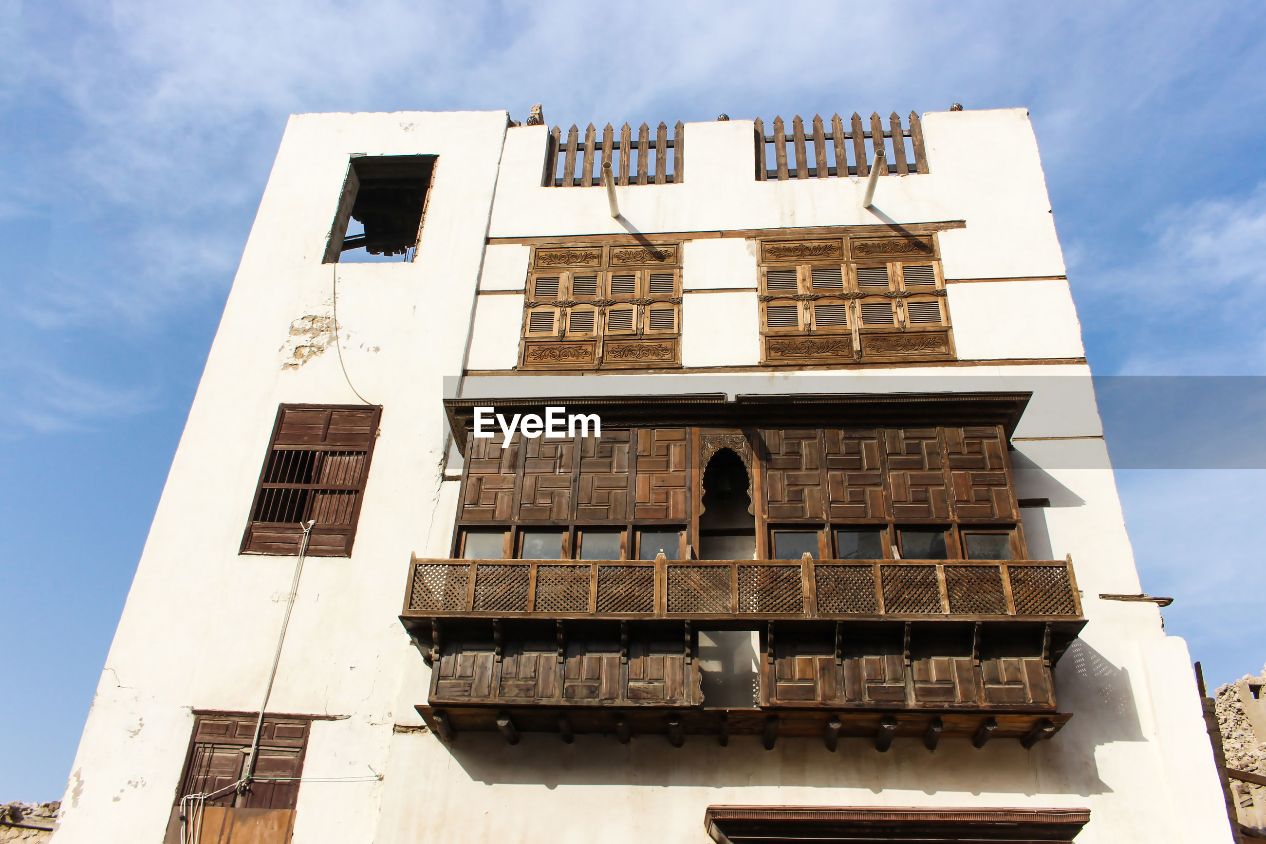 Unesco world historical heritage old city in jeddah