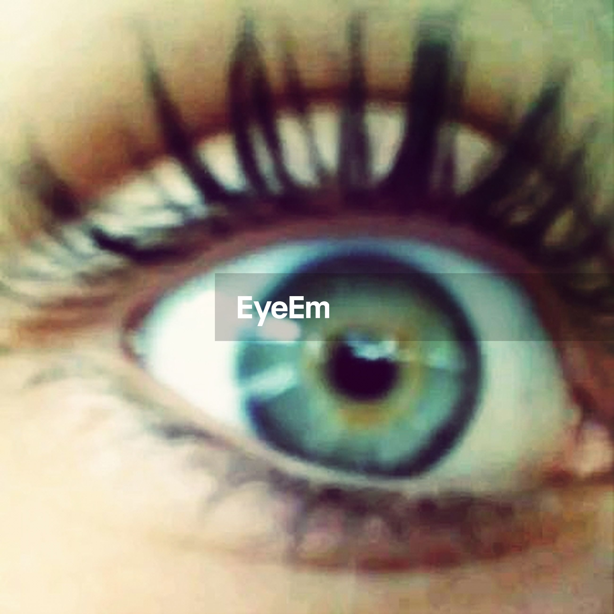 close-up, human eye, eyesight, circle, selective focus, eyelash, indoors, extreme close-up, part of, sensory perception, reflection, focus on foreground, eyeball, iris - eye, spiral, unrecognizable person, detail