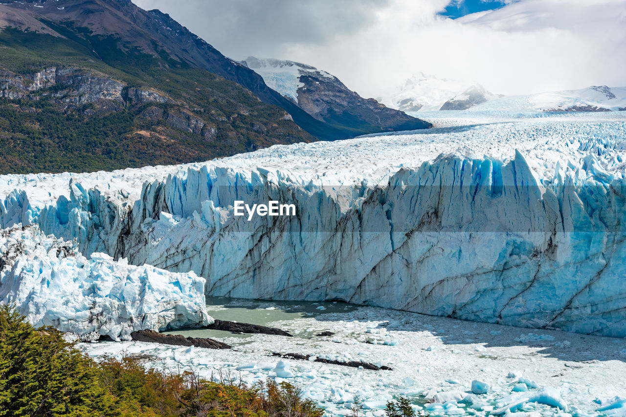cold temperature, glacier, landscape, environment, ice, mountain, sky, snow, winter, cloud - sky, nature, wilderness, water, environmental issues, scenics - nature, urban skyline, wallpaper, beauty in nature, frozen, melting, cold, range, height, snowcapped mountain, mountain peak, formation, high