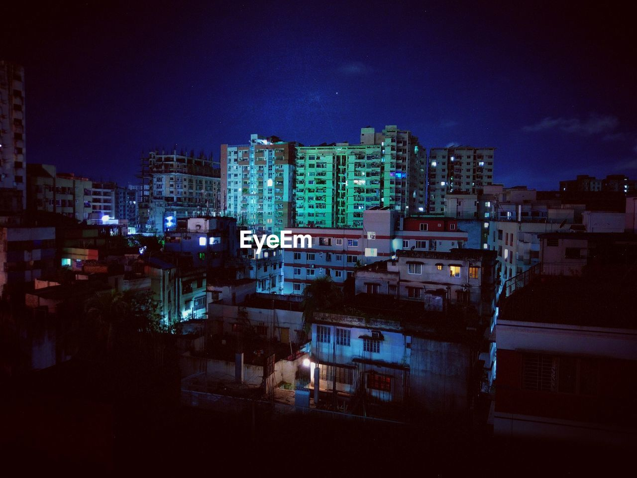 architecture, building exterior, night, illuminated, built structure, city, cityscape, no people, sky, outdoors, residential building, skyscraper
