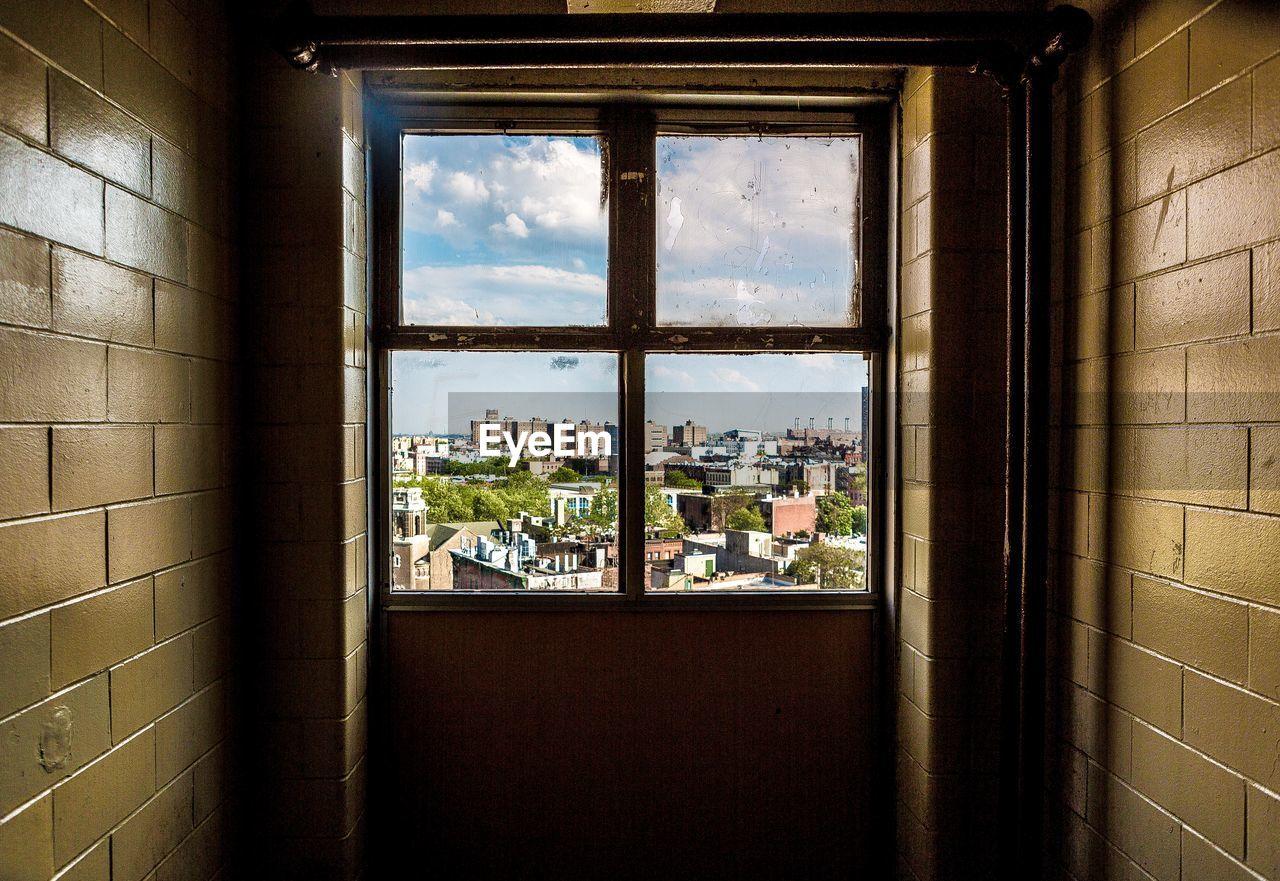 Buildings Seen From Window