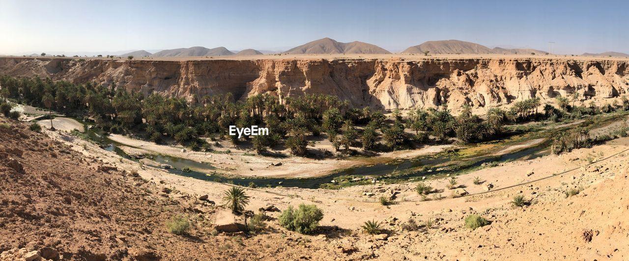 PANORAMIC VIEW OF DESERT