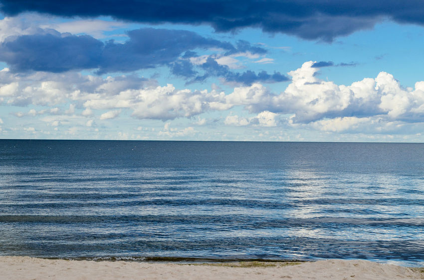Baltic Sea Bansin Beach Beauty In Nature Blue Cloud Cloud - Sky Cloudy Coastline Holiday Horizon Over Water Idyllic Nature Ostsee Scenics Sea Sea And Sky Seascape Shore Sky Tranquil Scene Tranquility Usedom Vacation Water