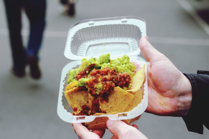 Street Food Worldwide Enjoying Life Guacamole Salsa And Chips First Eyeem Photo