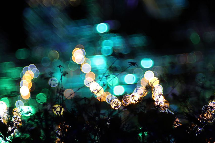 Wall off. Night Lights Illuminated Fukui Japan Canon5Dmk3 Meyer-Optik-Görlitz Trioplan100 Bokehlicious Soapbubblebokeh