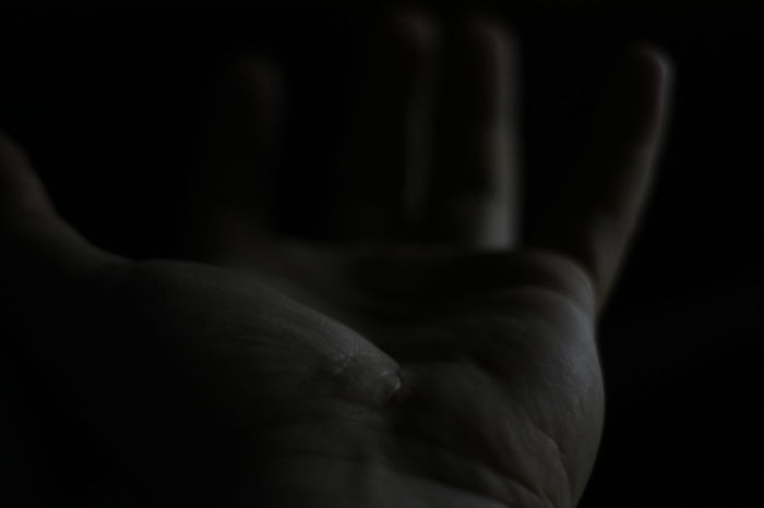My hand... Cropped Men Human Finger Human Skin Dark Strength Holding Studio Shot Extreme Close Up Begging Request Demand Hand Crave Palm Blur Macro