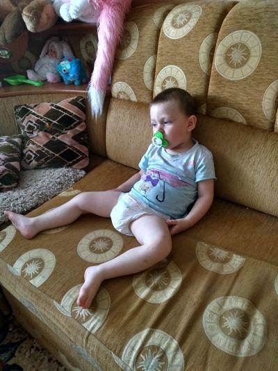 Baby One Person Real People Day сынуля♥ Богданчик усталаочень😒