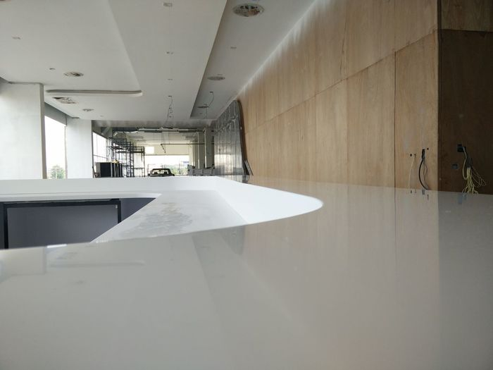 Indoors  Domestic Room Wood - Material Architecture Built Structure No People Bathroom Modern Water Day Household Fixture Countertop Acrylic Solid Surface Solid Surface Countertops EyeEmNewHere