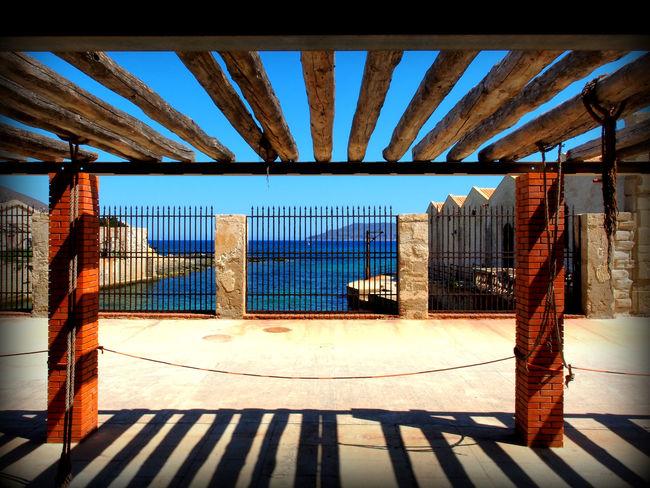 Favignana Isole Egadi Egadi Islands Holidays Favignana's Sea Architecture Built Structure Day Favignana Florio Museum Indoors  No People Sunlight Window