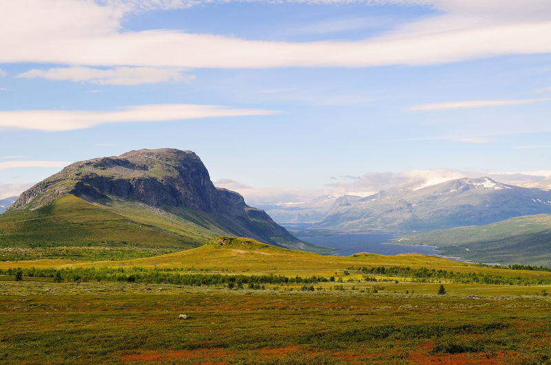 Sarek National Park Hiking National Park Sarek Sweden Beauty In Nature Day Grass Green Color Hiking Adventures Hiking Trail Hikingadventures Landscape Mountain Mountain Range Nationalpark Nature No People Outdoors Scenery Scenics Sky Sweden Nature Sweden-landscape Tranquil Scene Tranquility