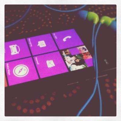 My Lumia is back. :D