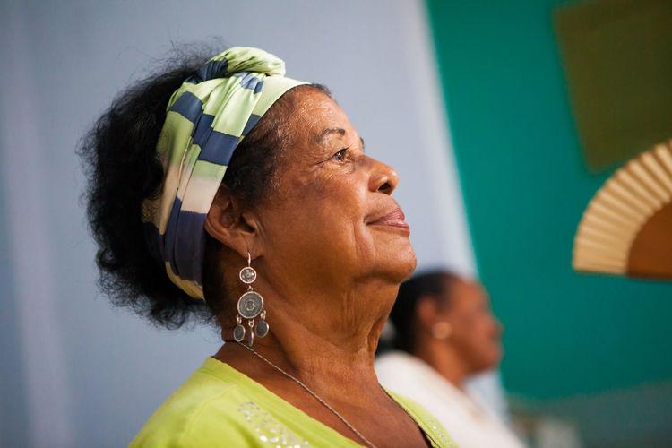 Beautiful Older Woman Close-up Cuba Day Headshot Indoors  One Person People Real People Santa Clara Cuba The Street Photographer - 2017 EyeEm Awards Woman