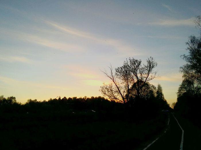 Любимый закат красота России