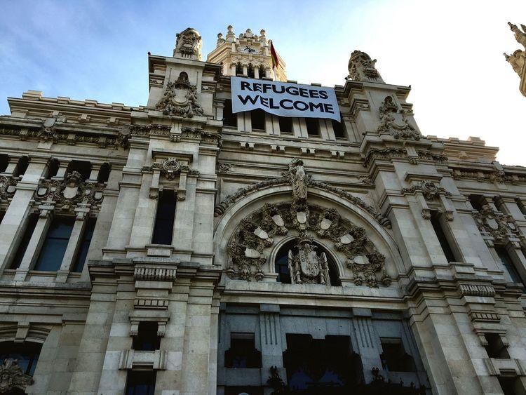 Palacio de Cibeles España🇪🇸 Madrid Palacio Cibeles Palace Palacio De Cibeles City