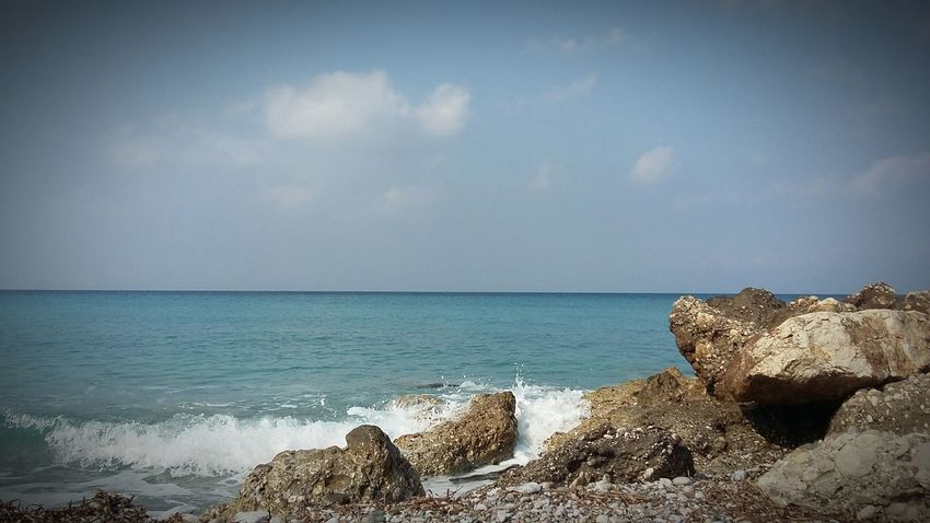 Rocks And Water Sea And Sky Beach Photography