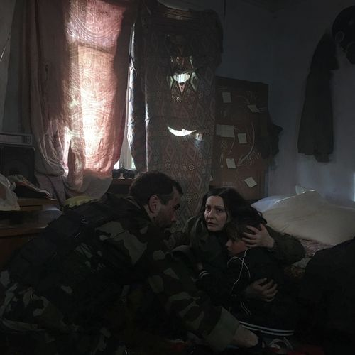 War in Ukraine War Military Dnr Putin Poroshenko Battle Gun Donbass Woman Child Kalashnikov Donetsk