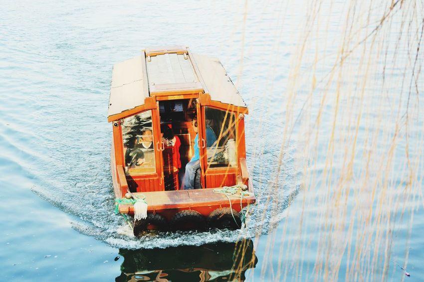 Cruising Water Day Outdoors Hangzhou Landscape Nature Lake Xihu Lake XiHu West Lake Hangzhou